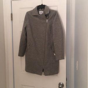 Barely worn grey coat